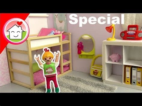 Playmobil Ikea Kinderzimmer Für Lena roomtour diy schminktisch ikea