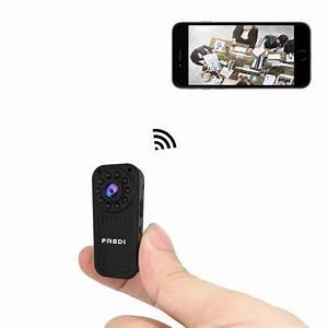 Camera Wifi Iphone : fredi hidden camera 1080p hd mini wifi camera spy camera ~ Voncanada.com Idées de Décoration