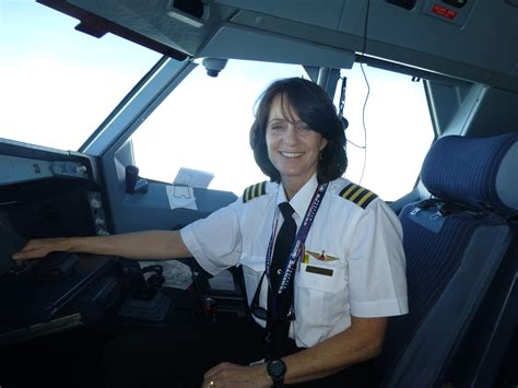 International Airline Pilot And Mom
