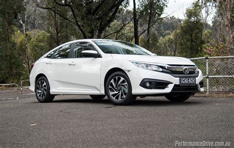 Honda Civic by 2016 Honda Civic Vti S Sedan Review Performancedrive
