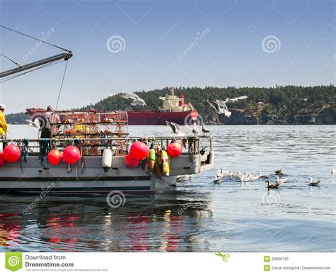How To Work On A Crab Boat by Working On Crab Boat Stock Photo Image 24906120