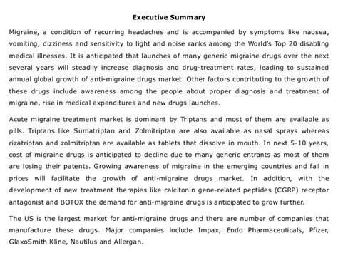 global anti migraine drugs market trends