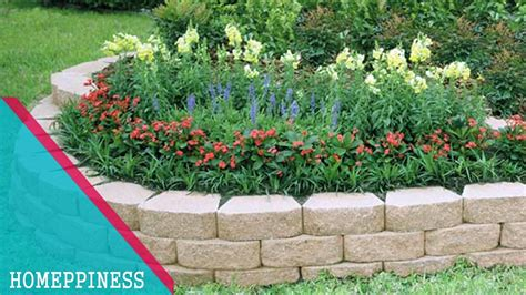 (must Look) 25+ Low Budget Stone Garden Edging Ideas That