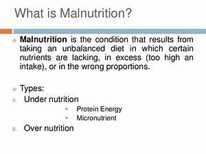 Protein Energy Malnutrition Malnutrition In India