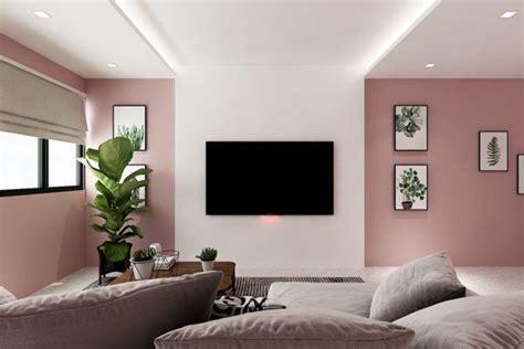 minimalist pastel pink hdb flat  straight