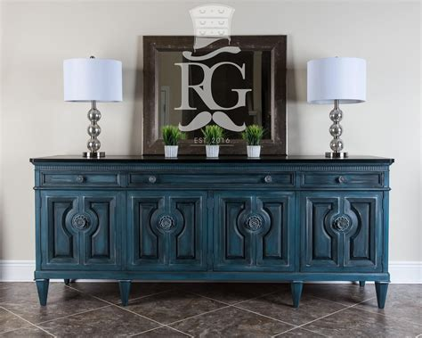 Painted Sideboard Ideas by Credenza Buffet Painted In Sloan Chalk Paint