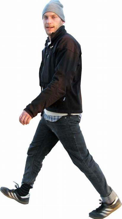 Walking Photoshop Way Skalgubbar Fast Human Figures