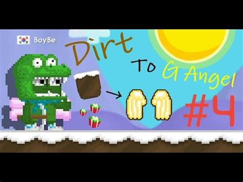 Growtopia - Dirt to G Angel #4 | Making 3 Moose Cap! - YouTube