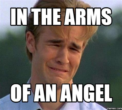 Angel Meme - in the arms of an angel memes com