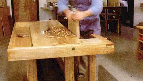 classic bench finewoodworking