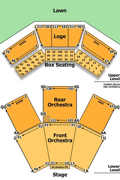 filene center seating chart wolf trap filene center seating chart theatre in dc 49105