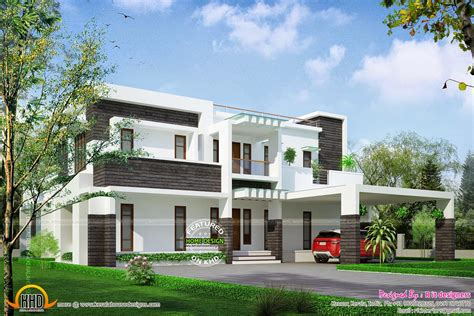 home designers contemporary house design in 400 square yards kerala