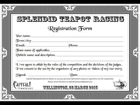 25+ Best Ideas About Registration Form Sample On Pinterest