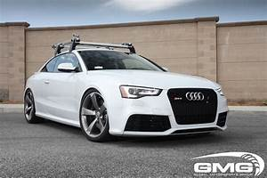 GMG Racing Audi RS5 Suzuka Gray w/ GMG Lowering Springs ...