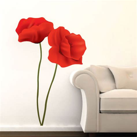 Wall Mural Decals Flowers by Flower Mural Decal Floral Wall Decal Murals