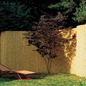 Sichtschutzzaun Bambusmatte Tonkin Natur Sichtschutz