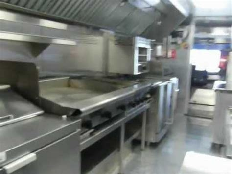 food truck kitchen design inside the kitchen of marksgrill foodtruck 3507