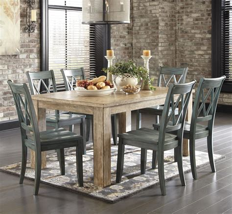 mestler side chair wayfair signature design by mestler 7 table set with