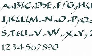 13 Ancient Calligraphy Fonts Images - Gothic Calligraphy ...
