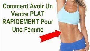 Comment Obtenir Un Prêt Caf : comment avoir ventre plat femme rapidement youtube ~ Gottalentnigeria.com Avis de Voitures