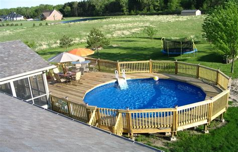 above ground pool decks privacy above ground pool deck