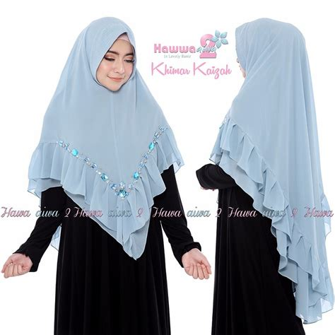 khimar kaizah  hawwa aiwa  khimar  layer model