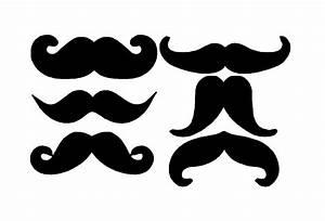 Handlebar Mustache Clipart - Clipart Suggest