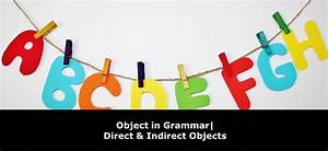 Object In Grammar