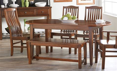 simply dining solid cherry table   chairs dining room