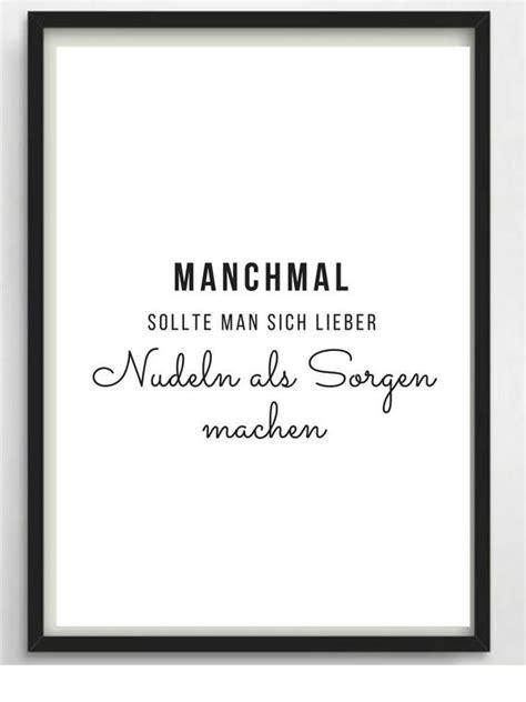 Sprüche Für Wände by Poster A4 Noodles For Kitchen Or As A Gift Essen