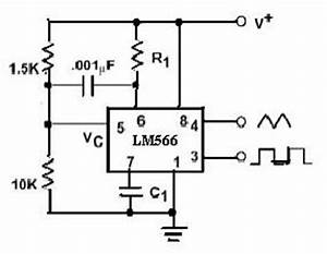 lm566 vco voltage controlled oscillator pin With high precision voltage controlled oscillator vco