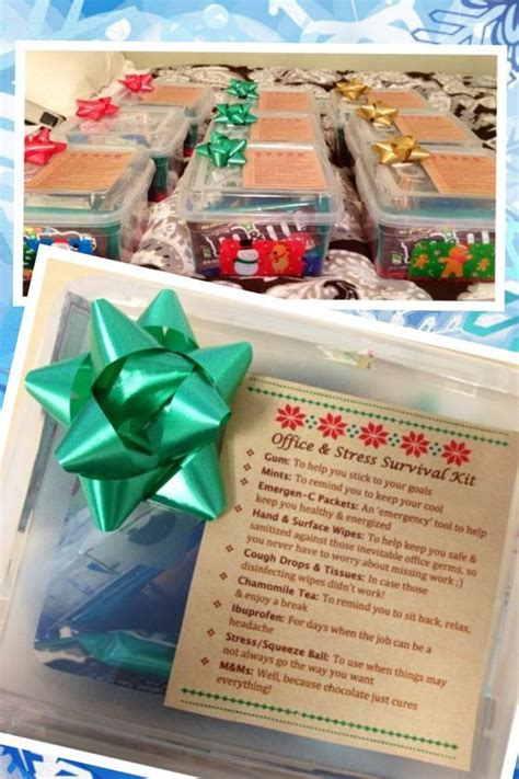 25 christmas gifts for office staff 25 best ideas about office survival kit on survival kits college gift boxes and