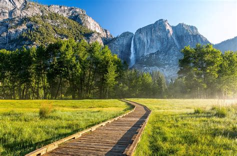 Yosemite National Park California United States Mountain