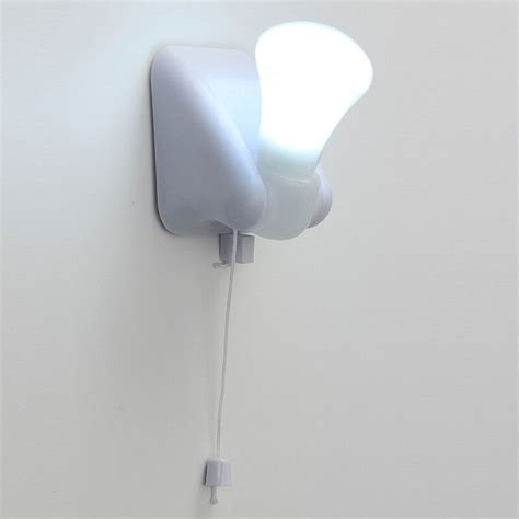 self adhesive handy led bulb cabinet wall mount