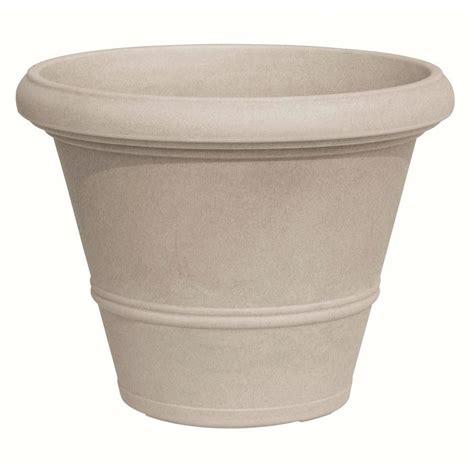 marchioro 19 75 in dia havana round plastic planter pot 369394 the home depot