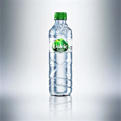 Volvic Bottle Design Concept (CGI & Design Work) on Behance