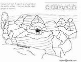 Canyon Grand National Coloring Park Arizona sketch template