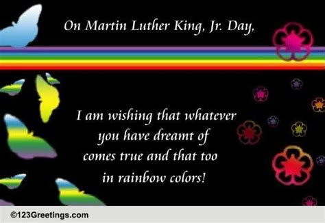 wishing dreams true martin luther king jr day