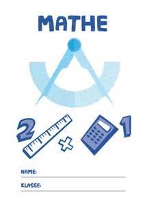 mathematik brüche mathe deckblatt pdf zum ausdrucken kribbelbunt