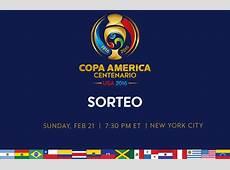 Sorteo en Nueva York define los grupos para la Copa
