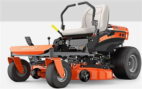 zero mower turn acres lawn recommendations series kohler ariens 19hp twin deck