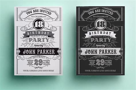 invitation card templates psd ai eps