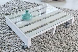 Faire Une Table Basse En Palette : transformer une palette en table basse diy family ~ Dode.kayakingforconservation.com Idées de Décoration