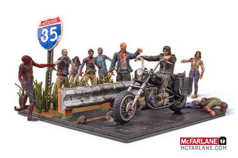 Mcfarlane Walking Dead Building Block Sets