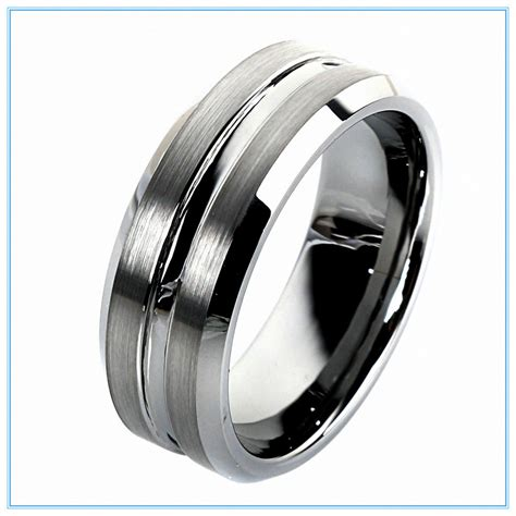 Tungsten Carbide Wedding Bands Perfect Options For Those