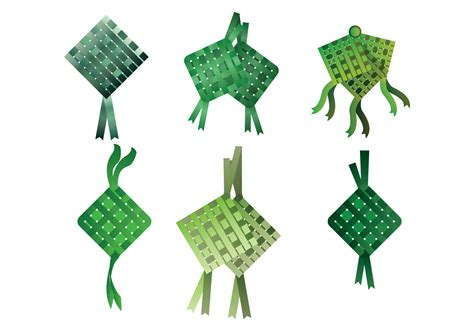 ketupat vector   vector art stock graphics images