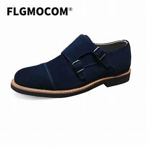 Flgmocom Bespoke Black Color Genuine Leather Suede Men