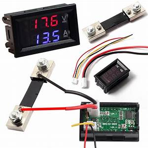 Aliexpress Com   Buy Dual Display Digital Voltmeter