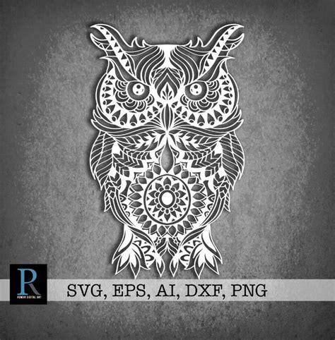 Free svg image & icon. New Owl SVG illustration RomanDigitalArt my #etsy shop ...