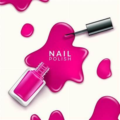 Nail Polish Paint Drop Manicure Bottle Makeup